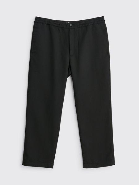 Tres Bien Layover Wool Drill Pant - Black