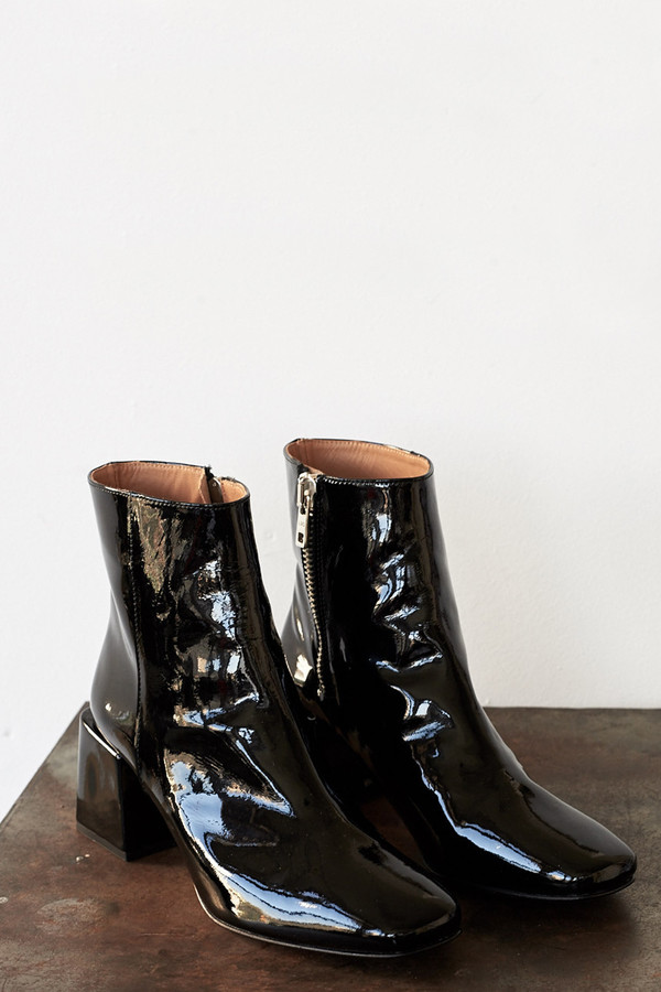 LOQ Patent Leather Lazaro Boot
