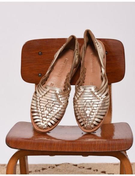 Leon & Harper Pachucas Shoes - Gold