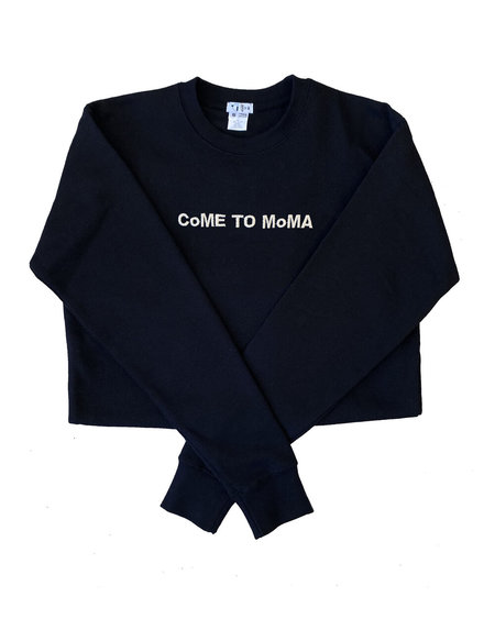 UNISEX House of 950 CoME TO MoMA embroidery sweatshirt