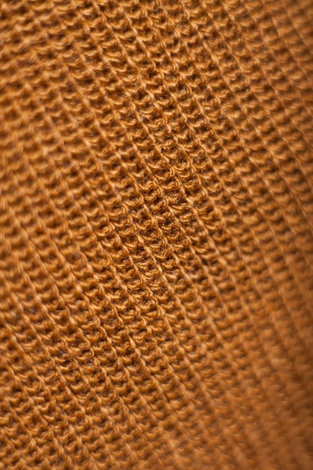Rototo Knitted Sock Stole - Light Brown