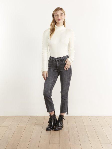 THE ODELLS Rowan Mock Neck Sweater - IVORY