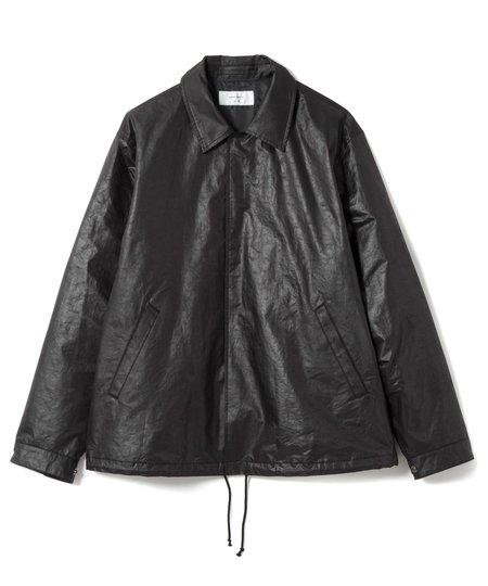 Sandinista MFG Water Repellent Coach Jacket - Black