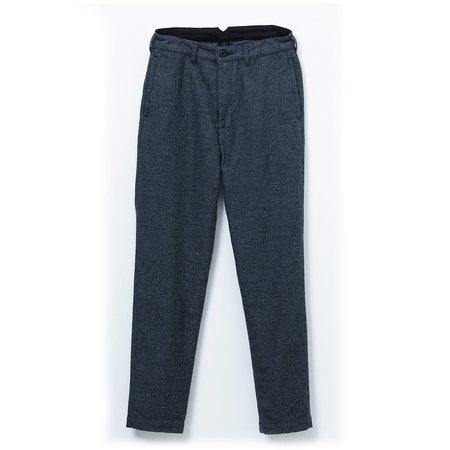 Momotaro Jeans Twill Herringbone Trousers - Gray