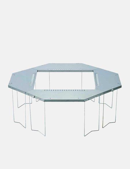 Snow Peak Jikaro Fire Ring Table - Stainless Steel