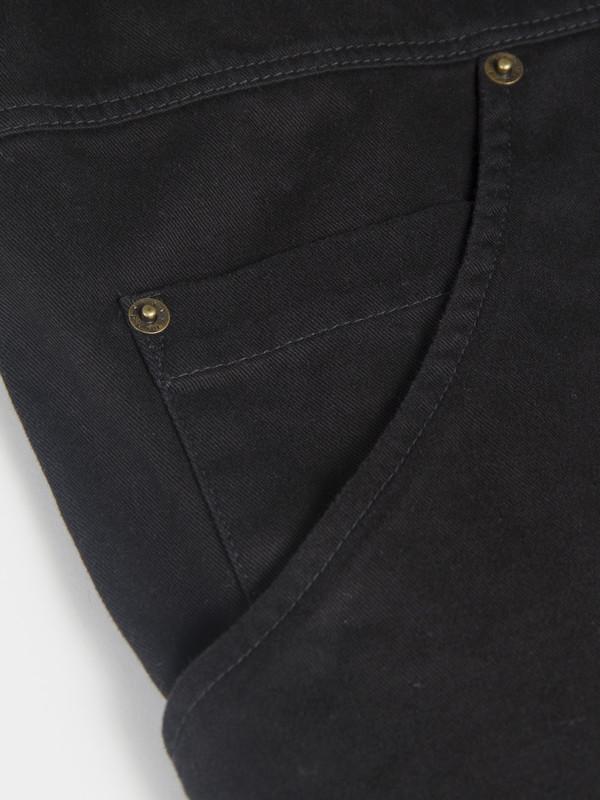 Unisex 69 Simple Coat Black
