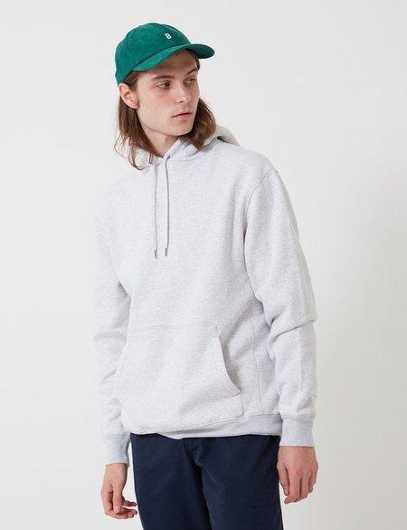 Bhode Oversized Pocket Hoodie - Grey Marl