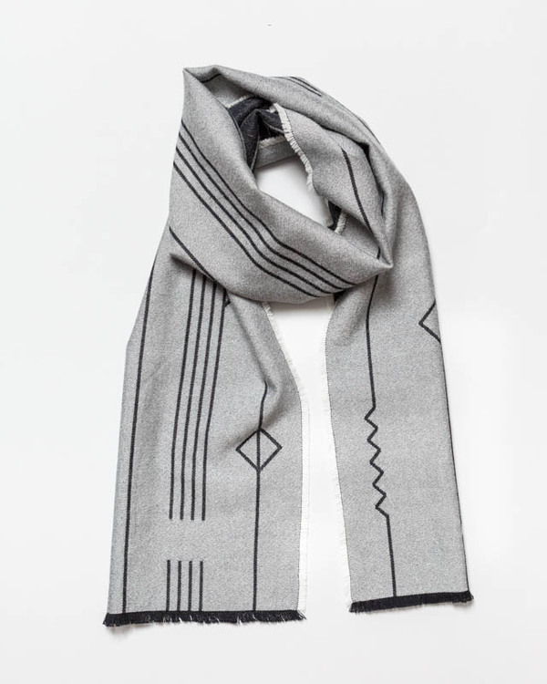 String Theory 'Origami' scarf