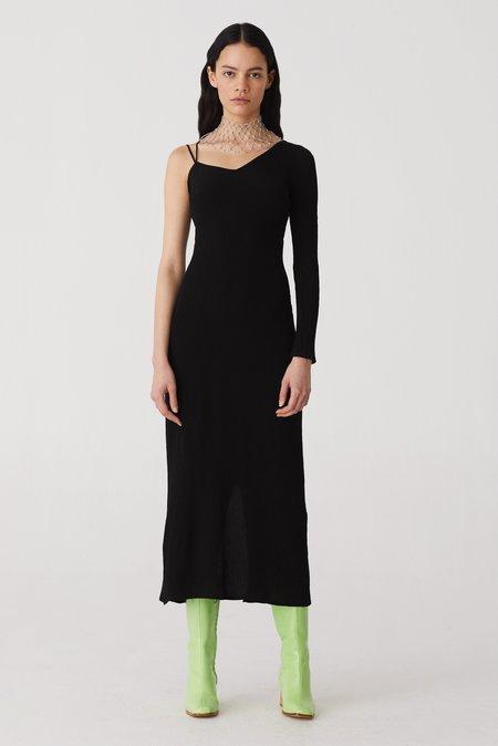 Paloma Wool Linde Asymmetric Dress - Black
