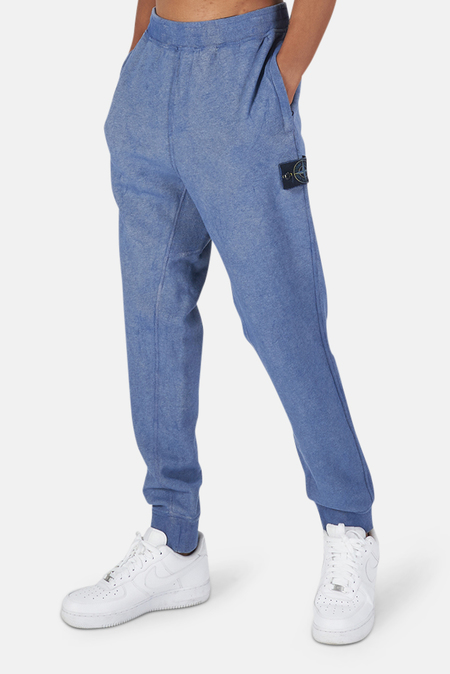 Stone Island Dust Treatment Pants Sweater - Periwinkle Melange
