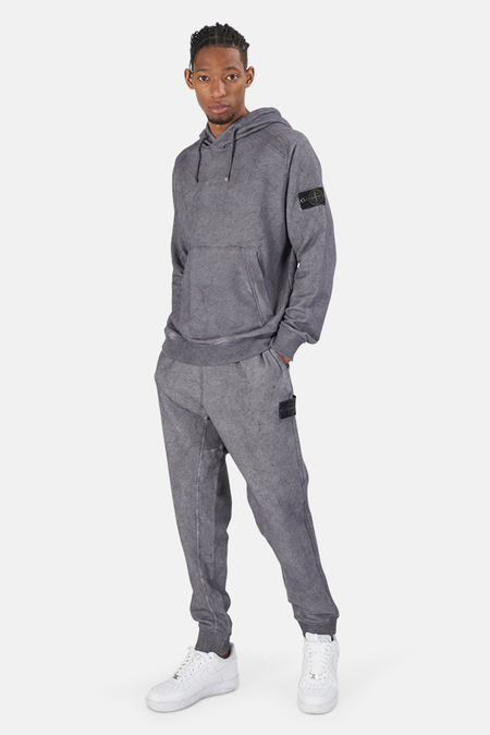 Stone Island Dust Treatment Pants Sweater - Purple Melange