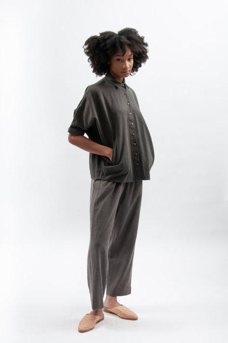 Wool 11.11. eleven eleven WType Pants - Dark Gray