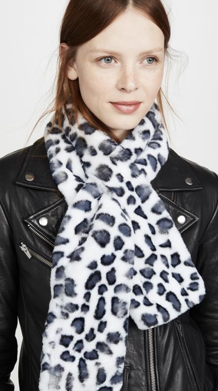 Apparis Claire Scarf - Leopard