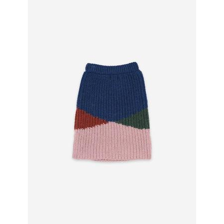 Kids Bobo Choses Knitted Skirt - Color Block