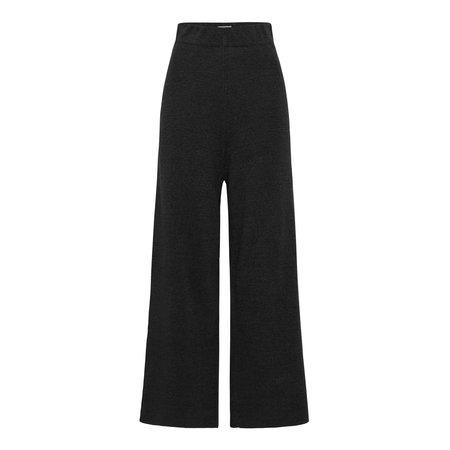 St. Agni Knit Lounge Pant - Black