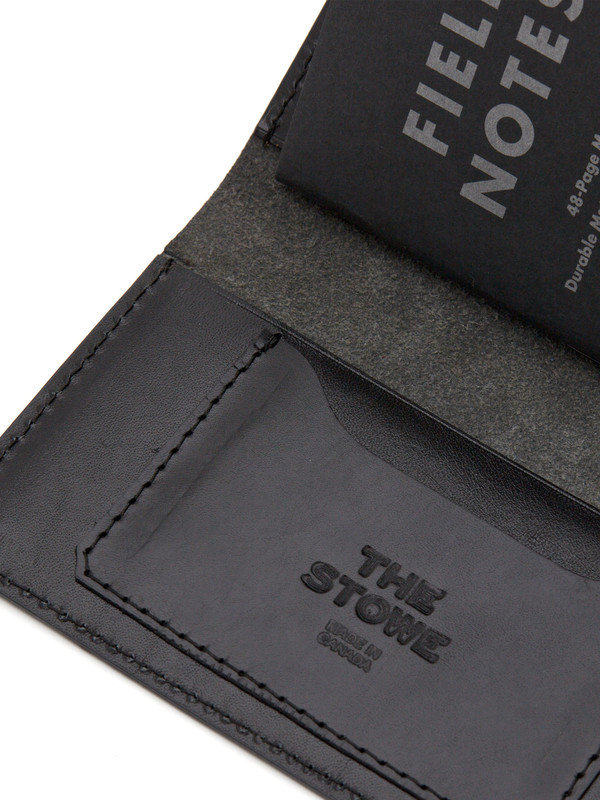 The Stowe Field Notes Wallet