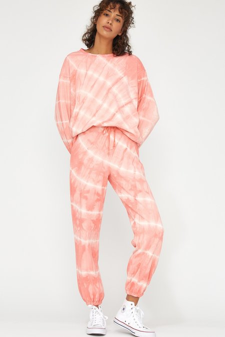 Lacausa Slater Sweatpants - Grapefruit