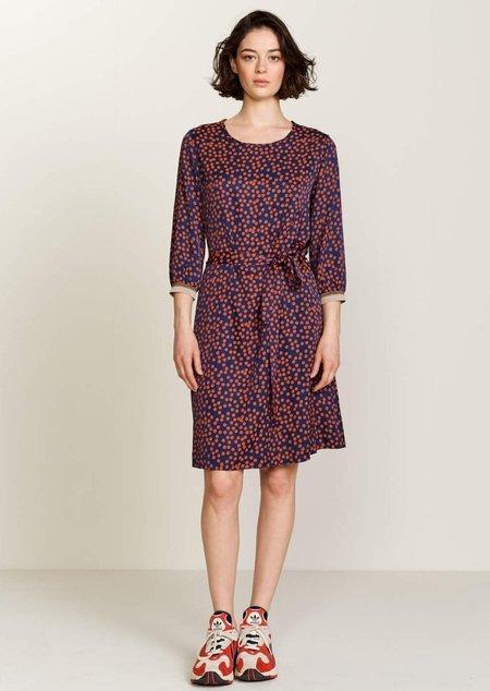 Bellerose Sao Dress - Orange/Navy