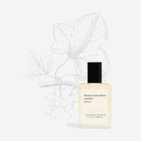 Maison Louis Marie Antidris Cassis Perfume Oil