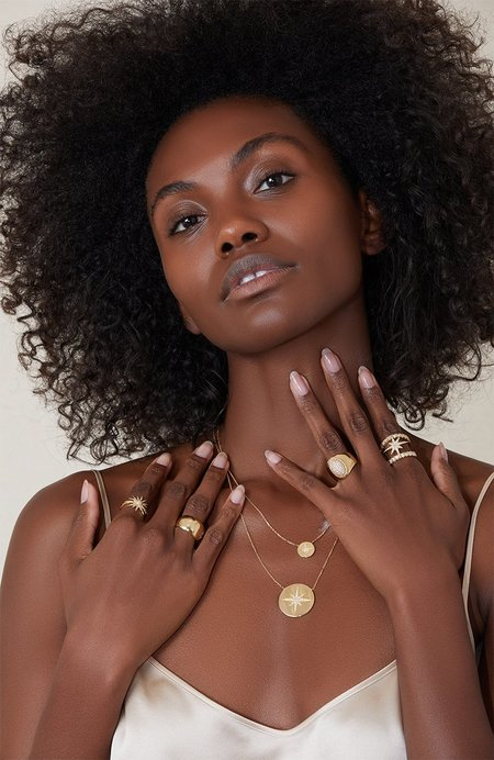 SAN MARE Sol Ring - Yellow Gold