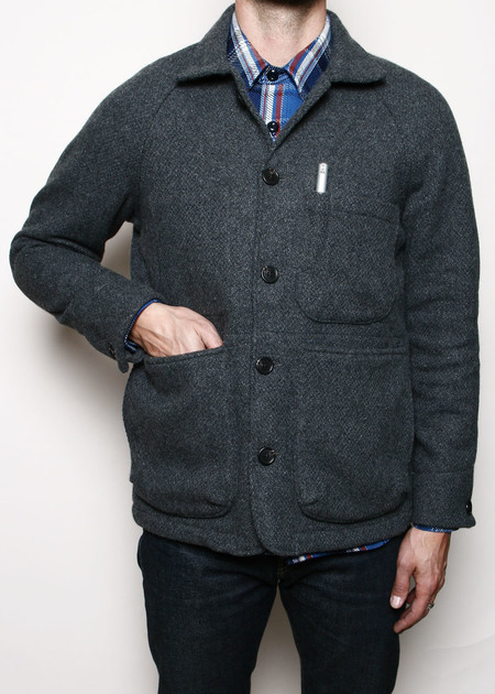 Rogue Territory Wool Explorer Blazer - Grey