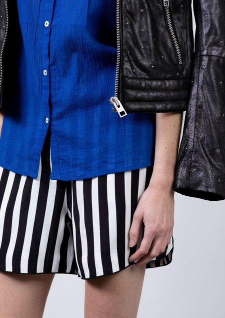 Notes du Nord Kenzie Shorts - Black/White