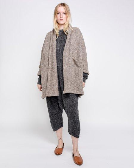 Unisex Atelier Delphine Haori Alpaca Knit Jacket - Deer