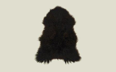 Hawkins New York Hawkins Iceland Sheepskin - Black