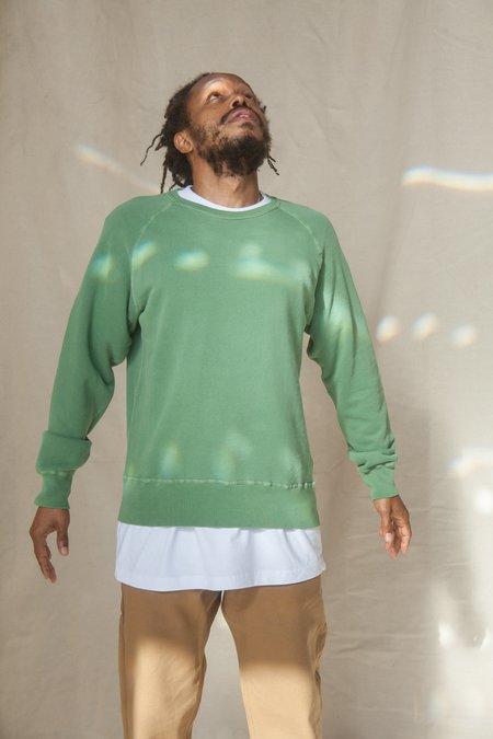 Velva Sheen 8oz Crewneck Freedom Sweater - Pine