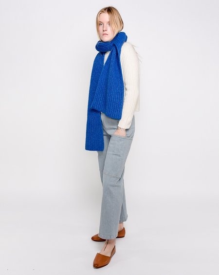 Paloma Wool Sorbeto Long Soft Scarf - Blue