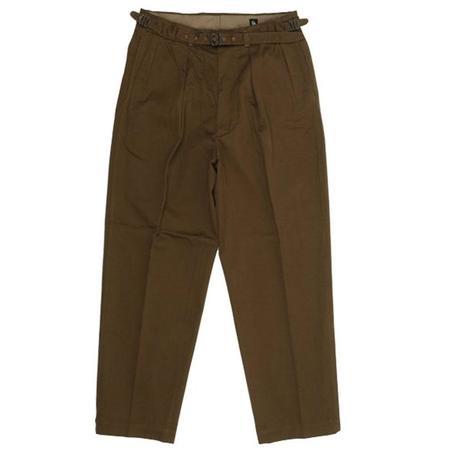 KAPTAIN SUNSHINE Gurkha Trousers - LIGHT BROWN