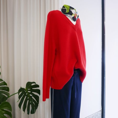 Unisex Extreme Cashmere Vital Sweater - Red