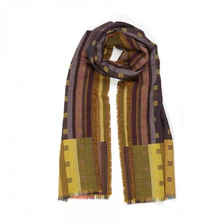 Wallace Sewell Wool Doublecloth Wrap Jacopo - Gold