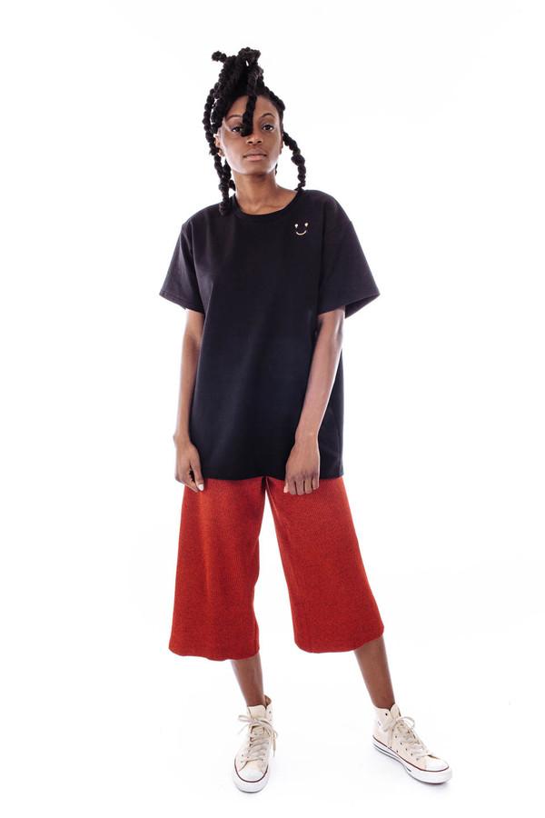 Nanushka Mosso Knit Culottes (Red Poppy)