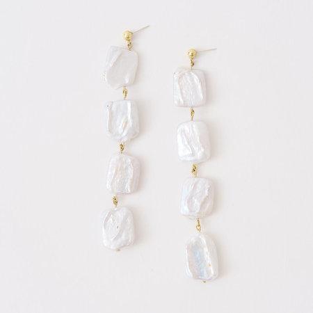 Crescioni sirena earrings