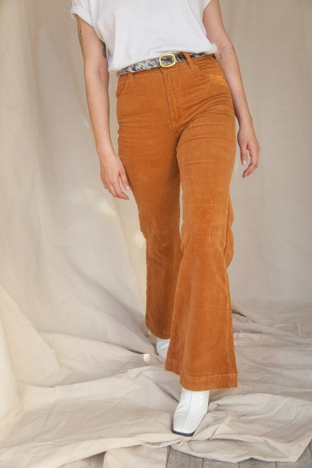 Rollas Eastcoast Flare Pant - Tan Cord