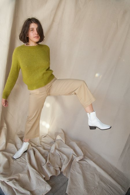 Levi's Ribcage Wide Leg Crop - Basic Khaki