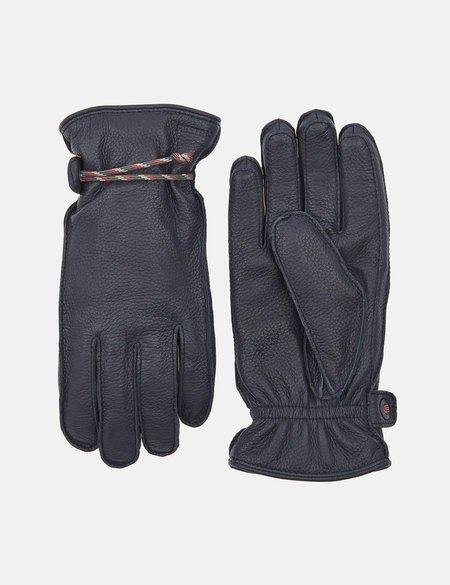 Hestra Granvik Elk Leather Gloves - Navy Blue