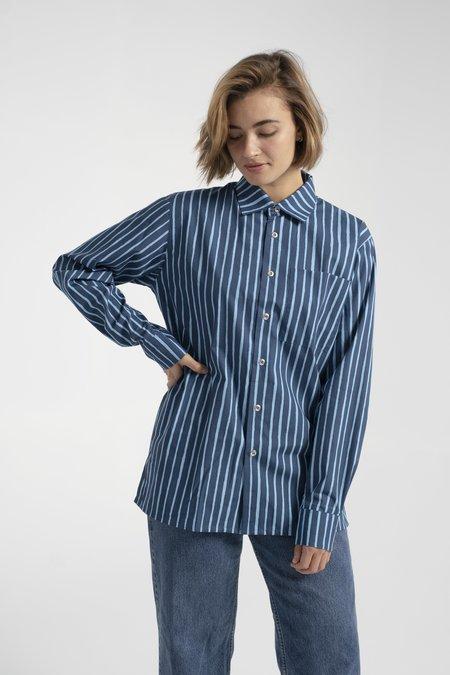 UNISEX Marimekko Jokapoika Shirt - Blue Navy
