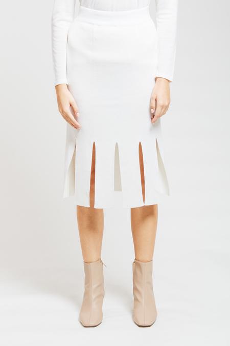 ADAM MAR Skirt - White