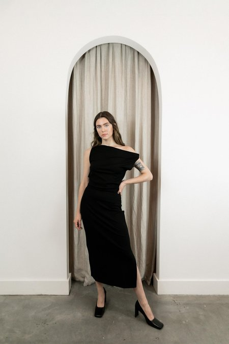 SHAINA MOTE SONORA DRESS - ONYX