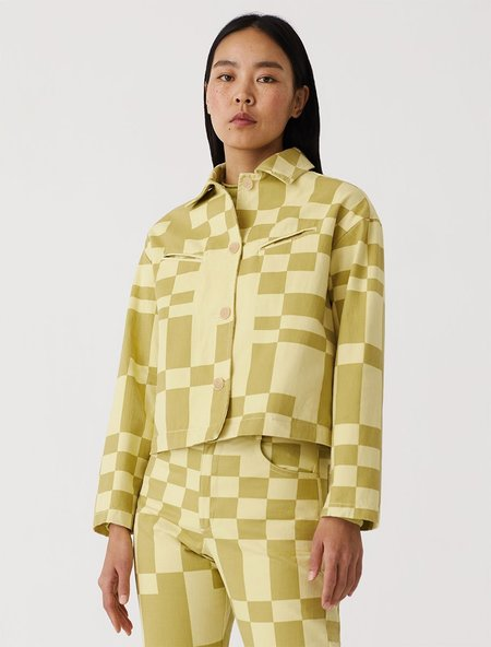 Paloma Wool Space Jacket - Lime
