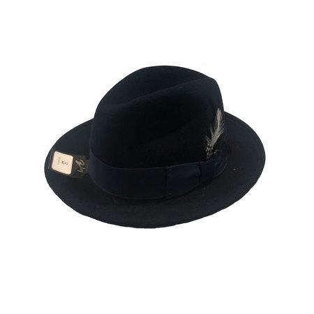 Bailey Hats Blixen fedora - Navy