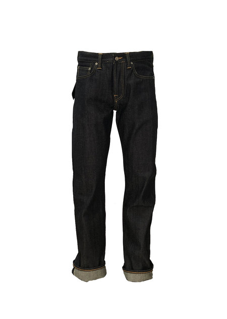 Edwin ED39 denim - Red Selvage Unwashed