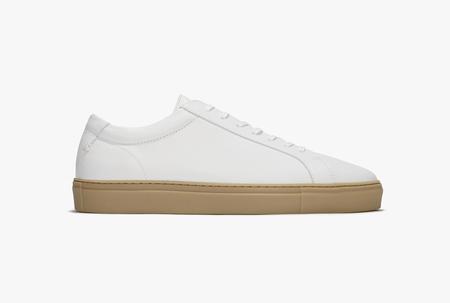 Uniform standard Series 1 shoes - White Gum Leather