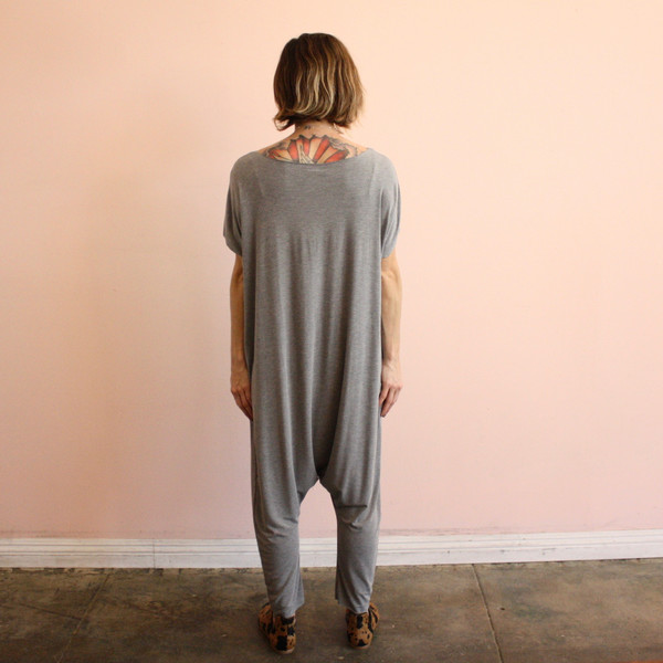 BIG FUN THING Big Fun Romper - gray