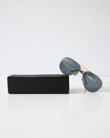 Porsche Design Aviator Sunglasses - Gold