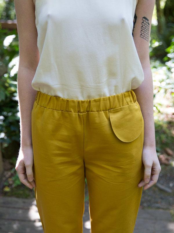 Wrk-Shp Ginger Pocket Pant