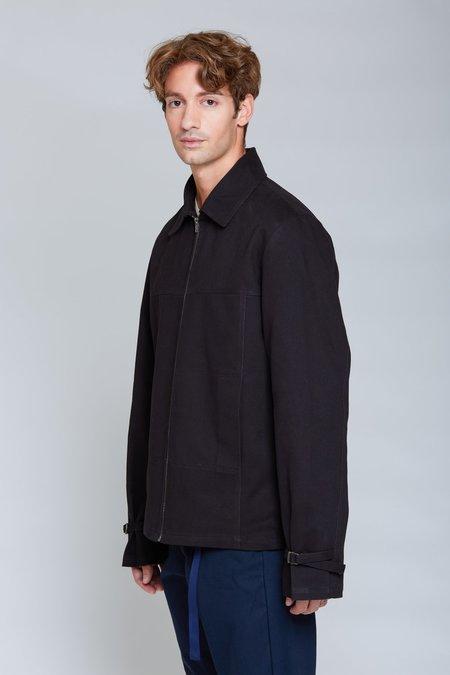 ANT/BODIES Heavy Shirt Blouson Jacket - Black