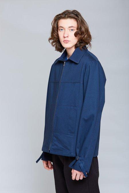 ANT/BODIES Heavy Shirt Blouson Jacket - Midnight Blue